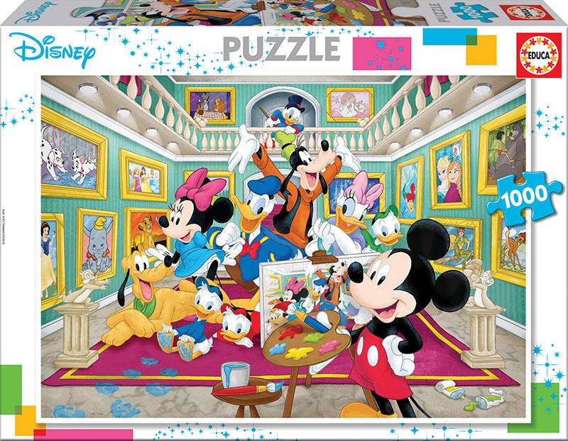 1000 Mickey Art Gallery