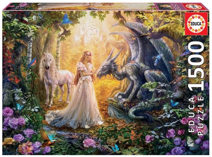 1500 Dragón, Princesa y Unicornio