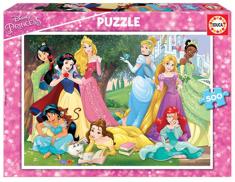 500 Princeses Disney