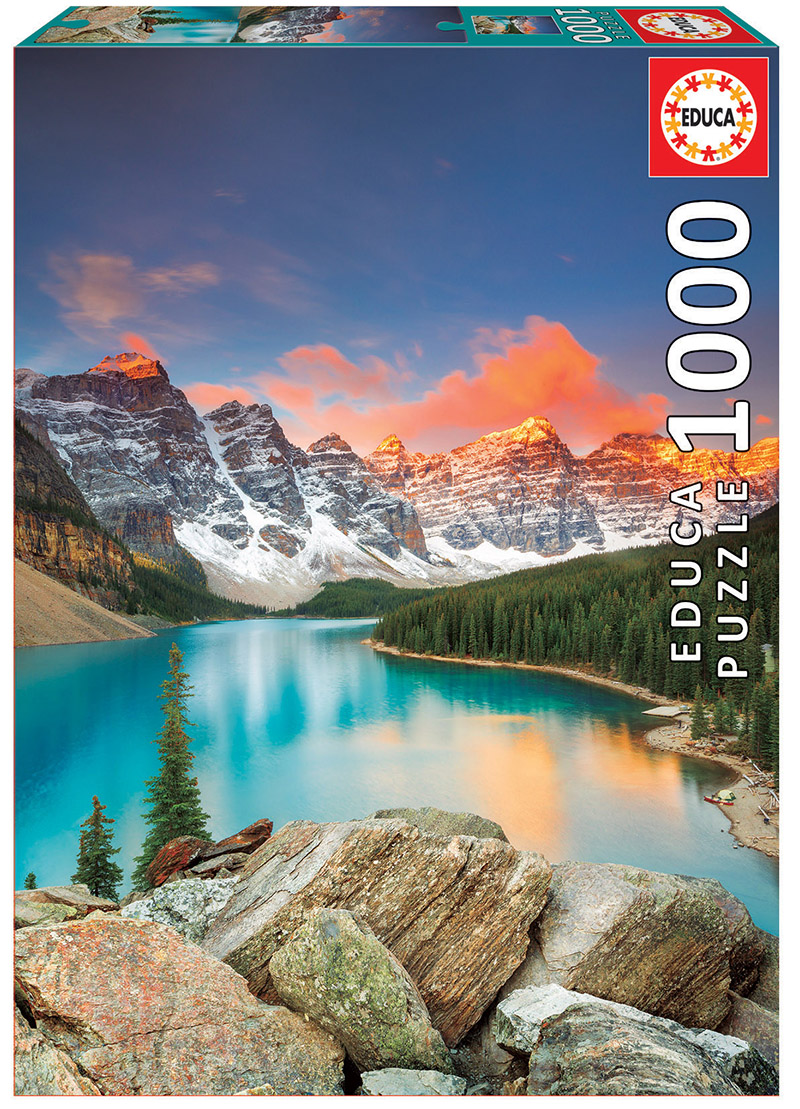 1000 Llac Moraine, Banff National Park, Canadà