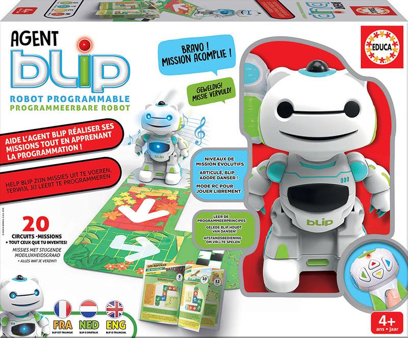 Agent Blip – Robot Programable