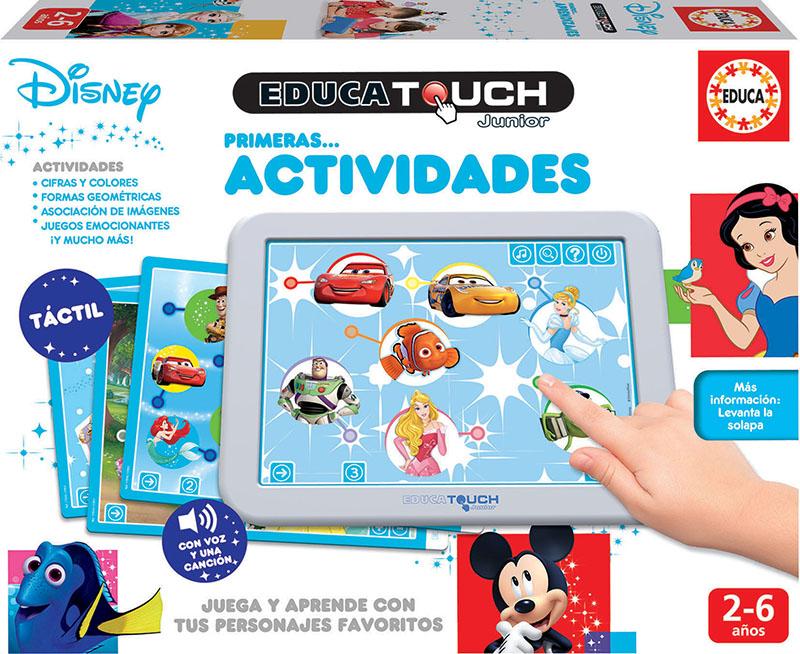 Educa Touch Junior Primeras actividades Disney