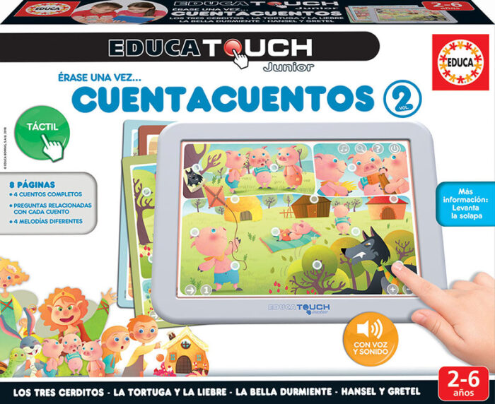 Educa Touch Junior cuentacuentos
