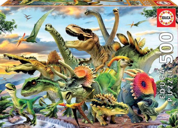 500 Dinosaurios