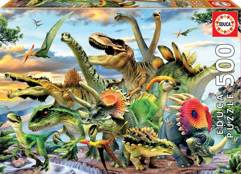 500 Dinosaurs