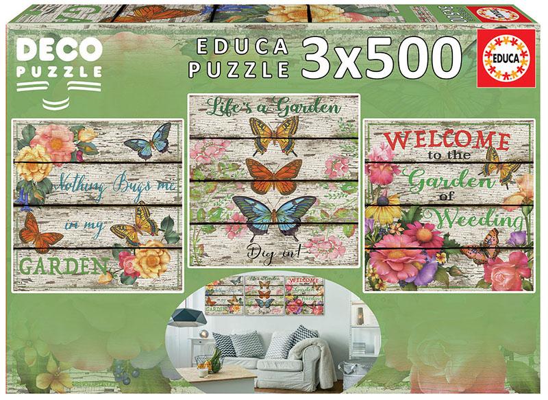 3×500 Jardín campestre