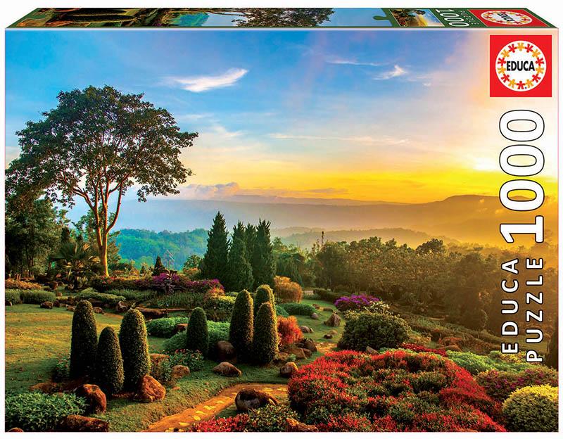 1000 Jardín precioso