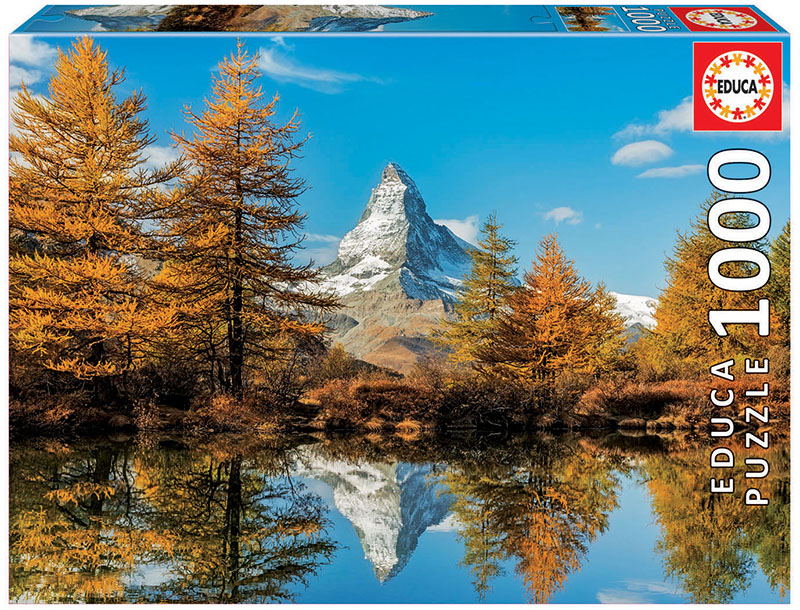 1000 Mont Cervin en automne