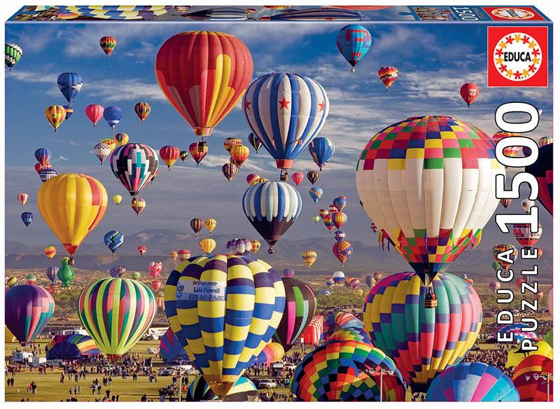 1500 Hot Air Balloons