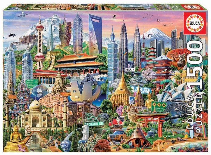1500 Símbolos de Asia
