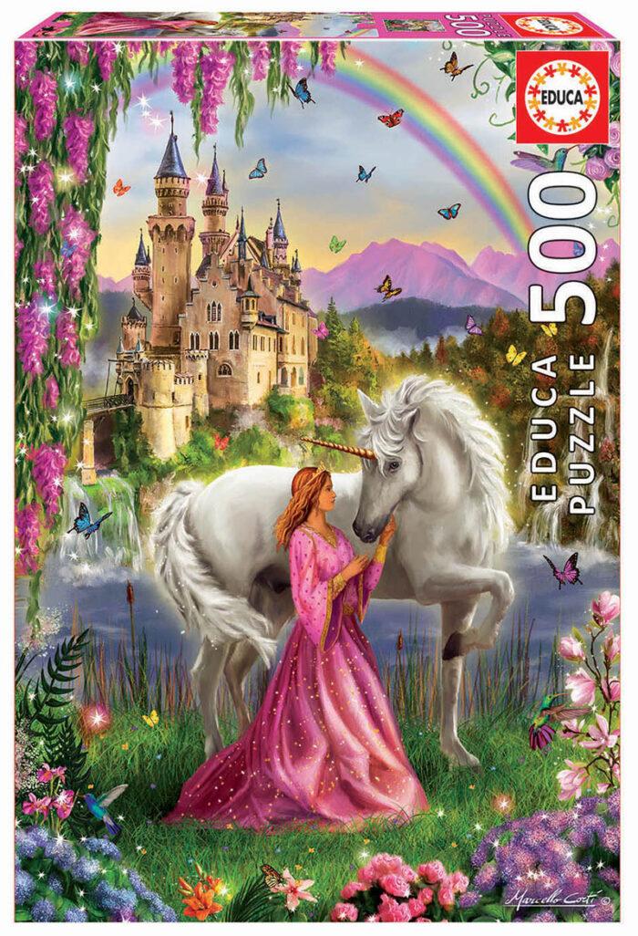 500 Hada y unicornio