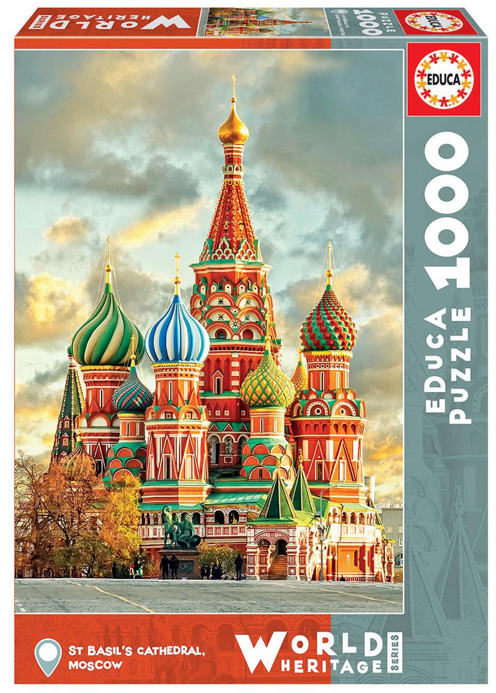 1000 Cathédrale de Saint-Basile, Moscou