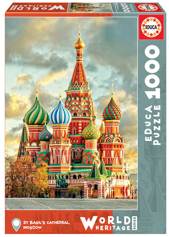 1000 Catedral de San Basilio, Moscú