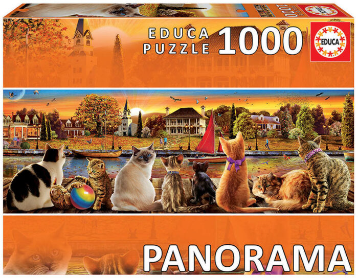 """1000 Gatos en el embarcadero """"Panorama"""""""