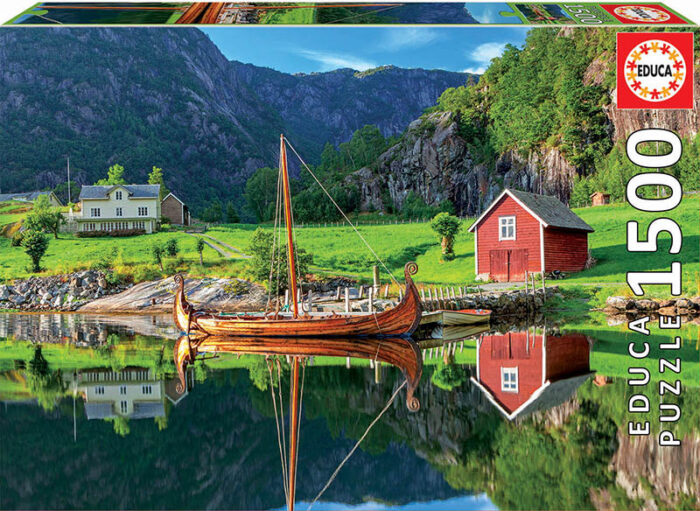 1500 Barco vikingo
