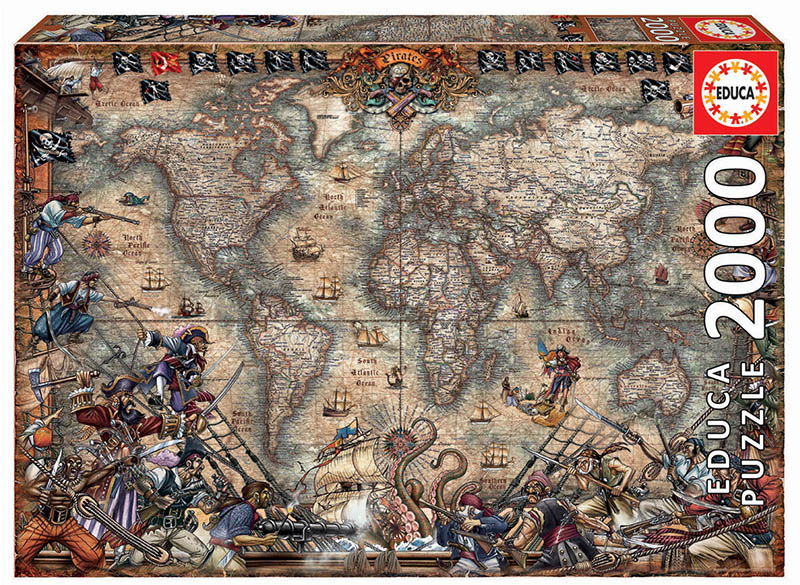 2000 Carte des pirates