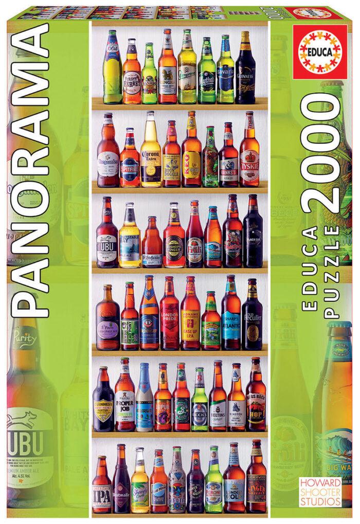 """2000 Cervezas del mundo """"Panorama"""""""