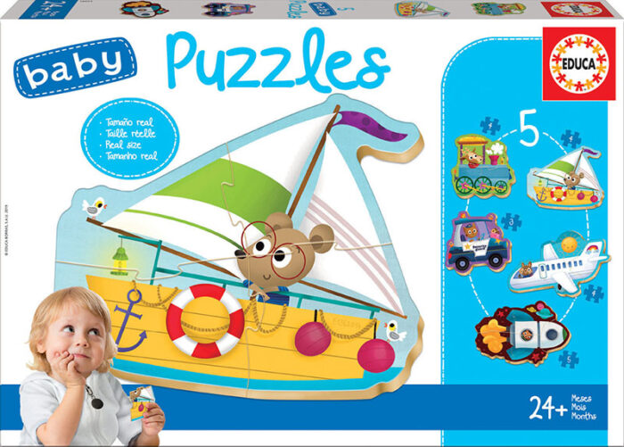 Baby Puzzles Vehículos II