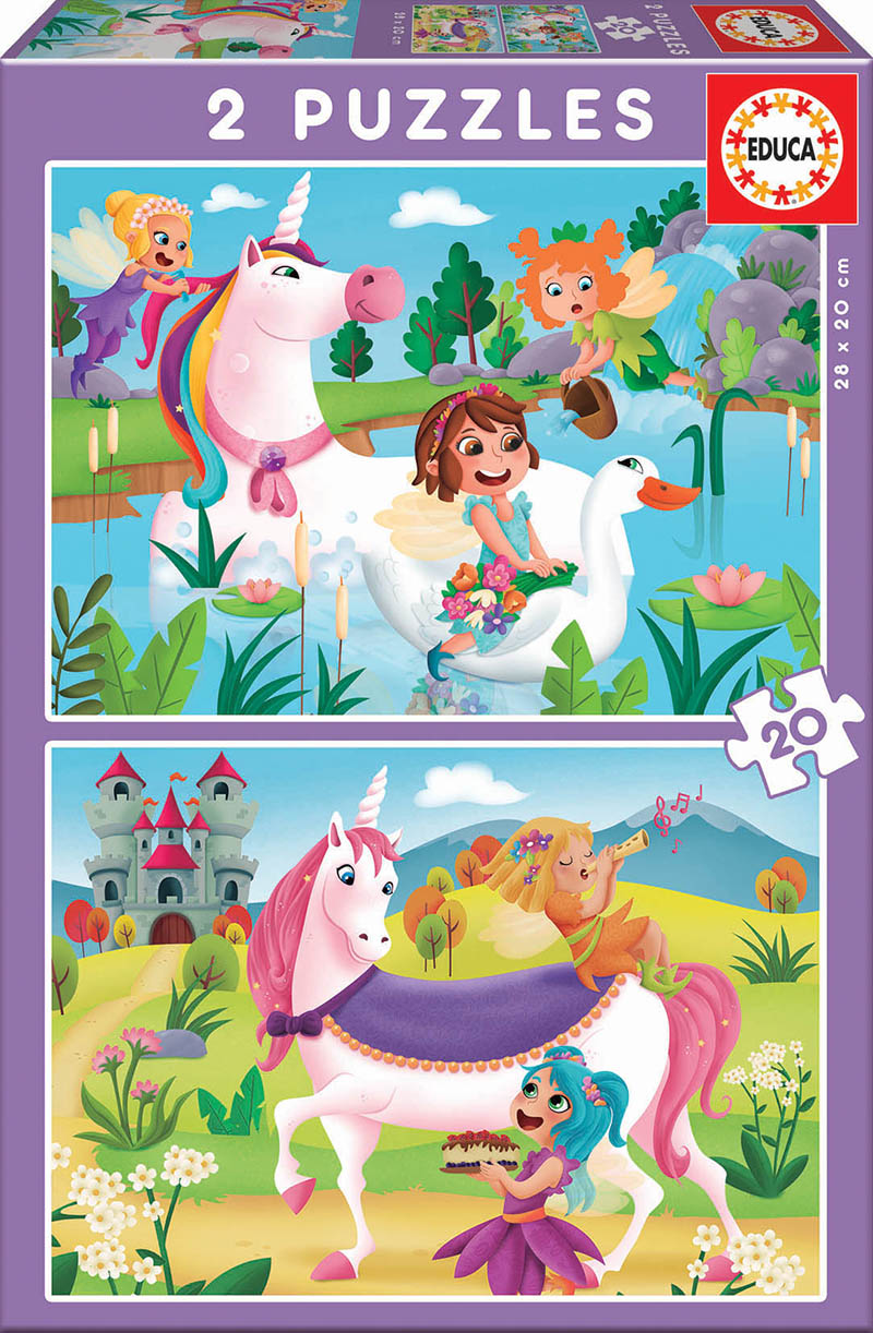 2×20 Unicorns and fairies