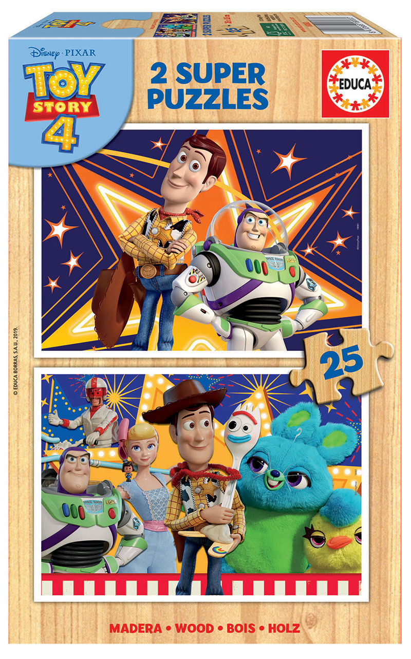 2×25 Toy Story 4