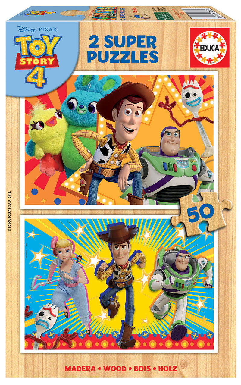 2×50 Toy Story 4