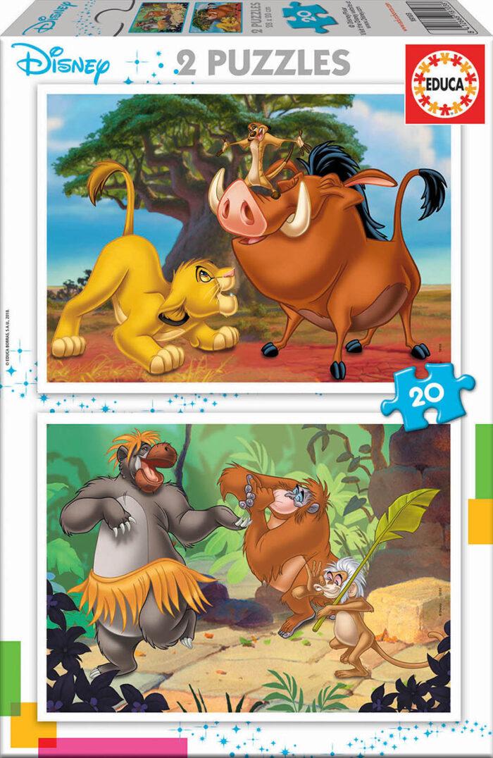 2x20 Disney Animals