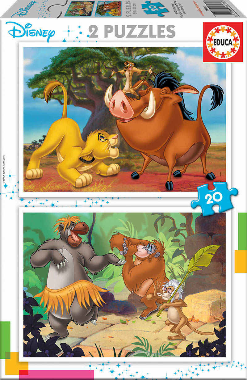 2×20 Disney Animals