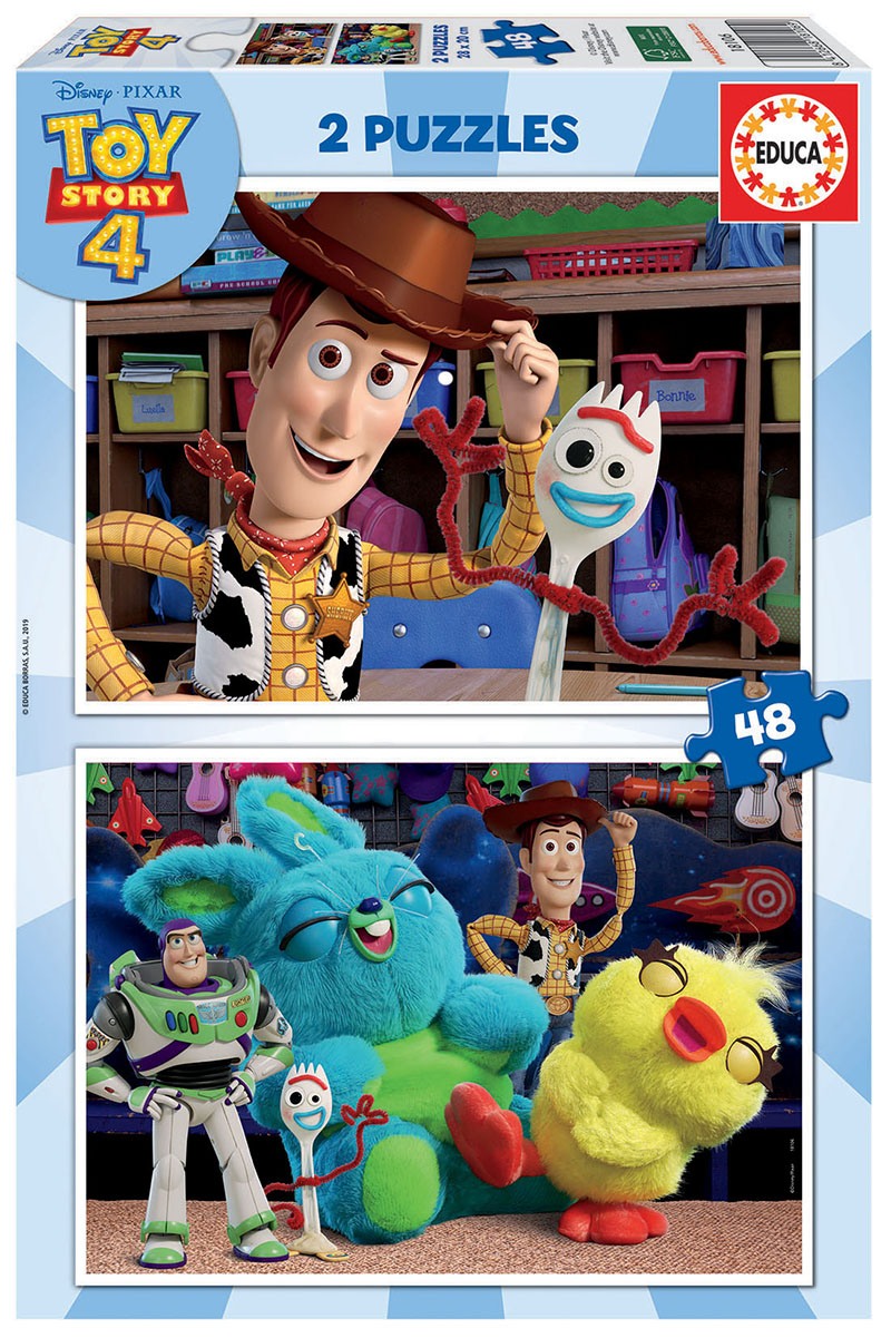 2×48 Toy Story 4