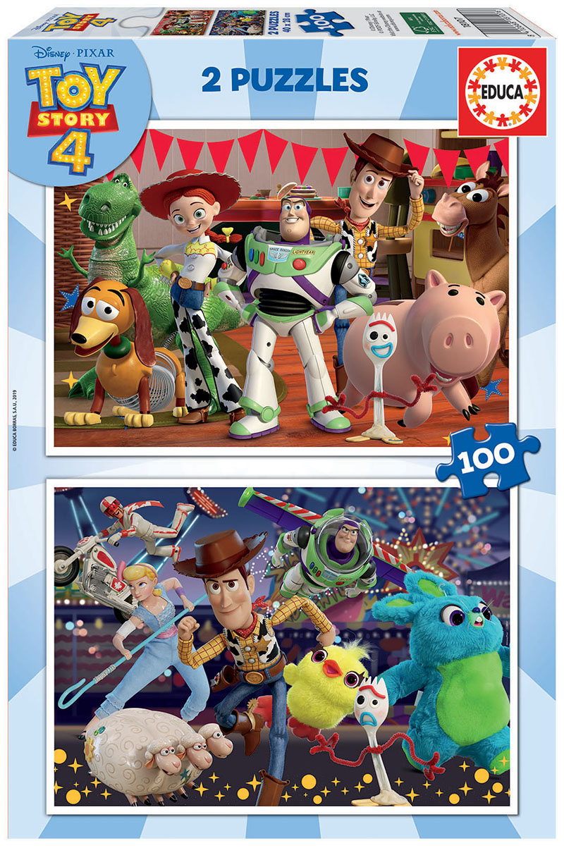 2×100 Toy Story 4