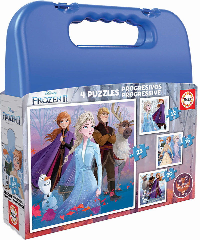 Malette Puzzles Progressifs Reine Des Neiges 2