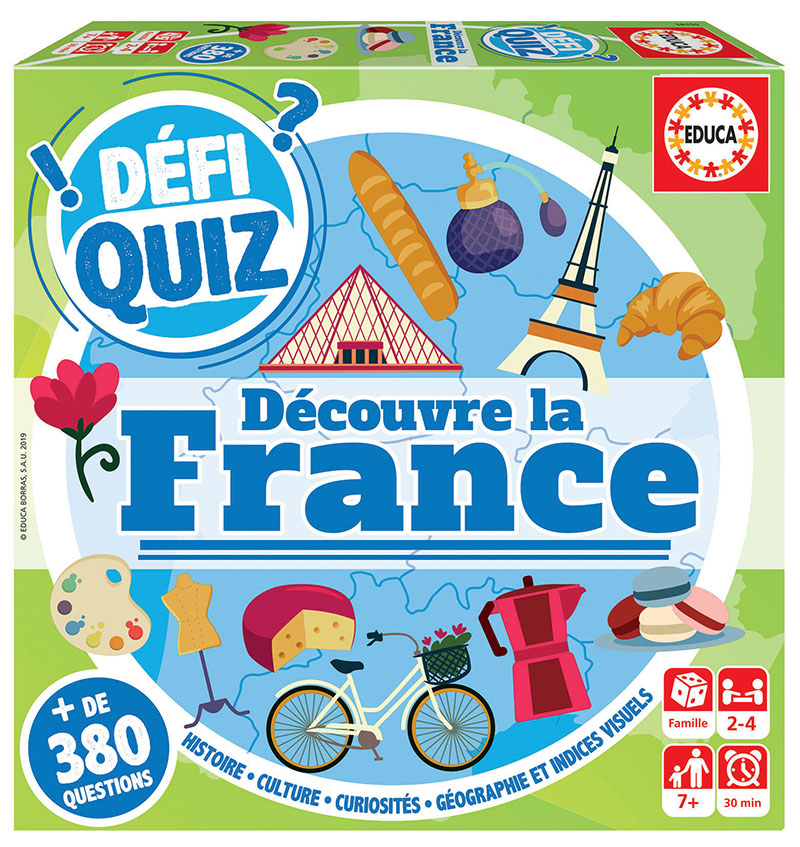 Defi Quiz – Voyage en France