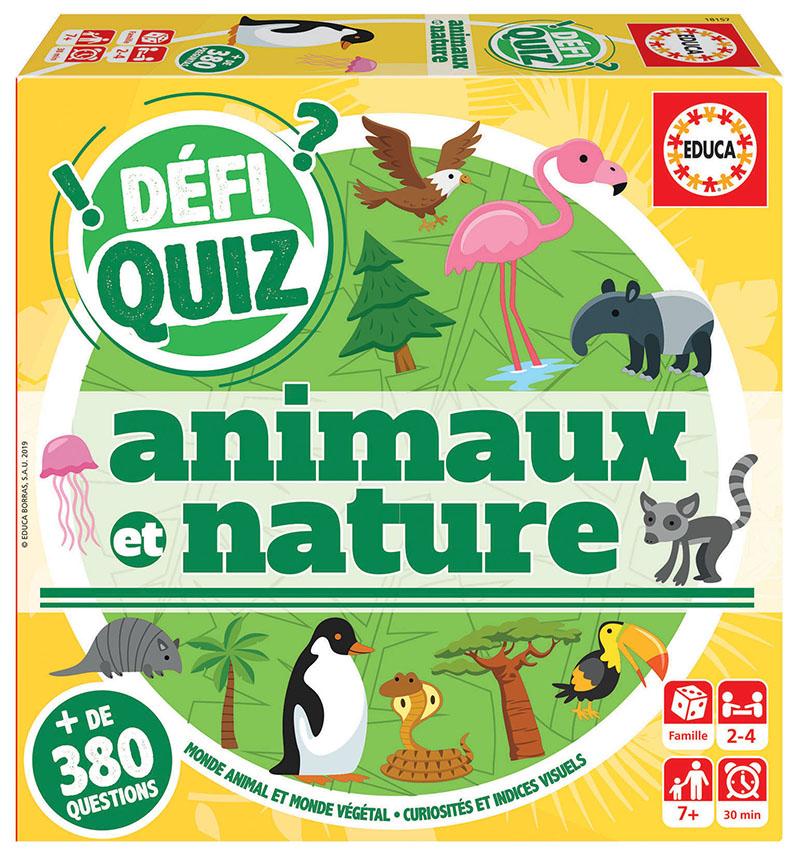 Defi Quiz – Animaux et Nature