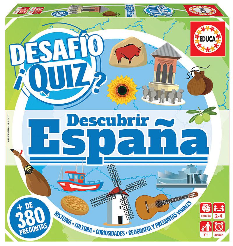 Desafío Quiz descubrir España