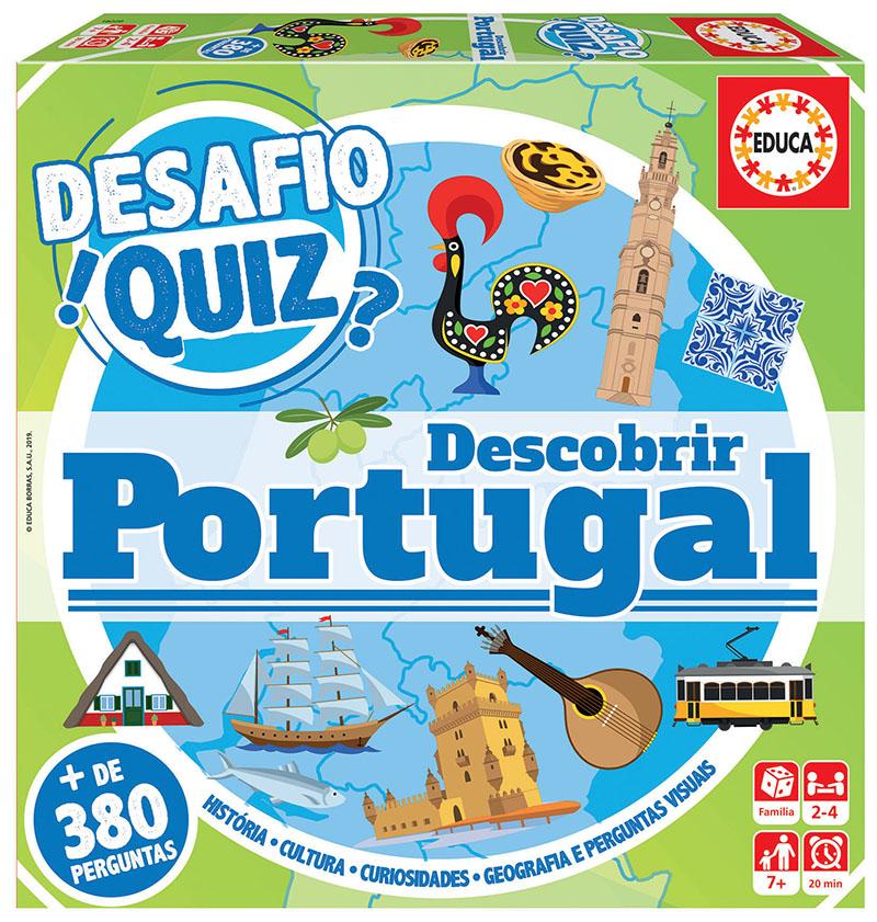 Desafio Quiz – Descobrir Portugal