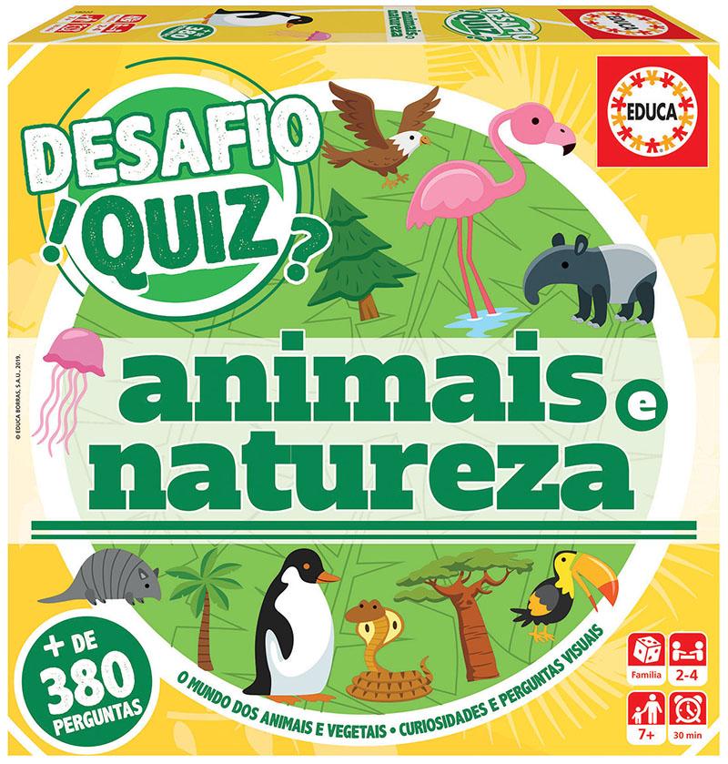 Desafio Quiz – Descobrir Os Animais E A Natureza