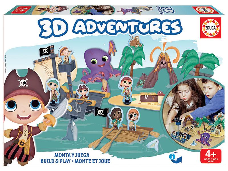 3D Adventures Piratas