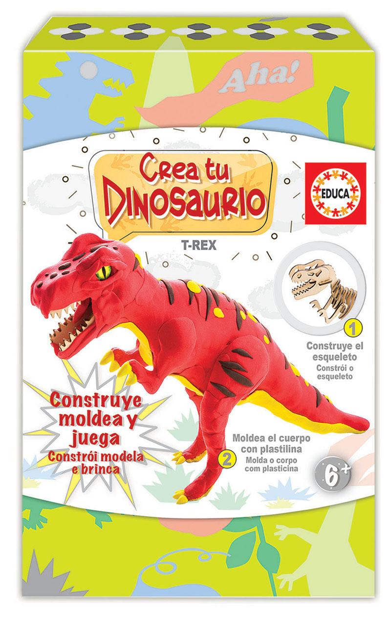 Cria e molda o teu T-Rex