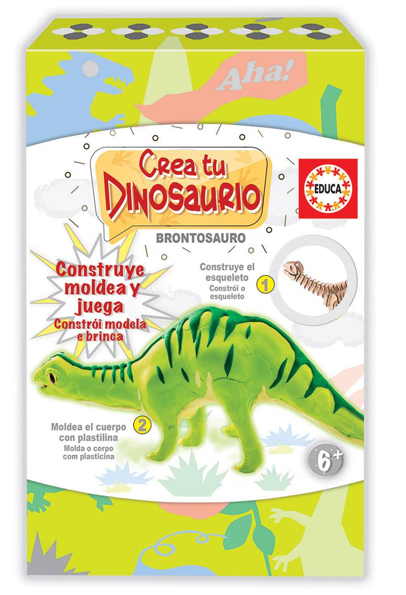 Crea y Moldea tu Brontosauro