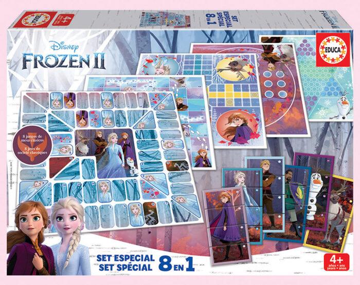 Set 8 en 1 Frozen 2