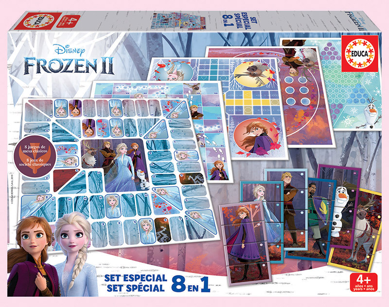 Set 8 en 1 Frozen 2