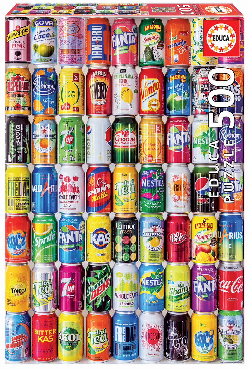 500 Soft cans