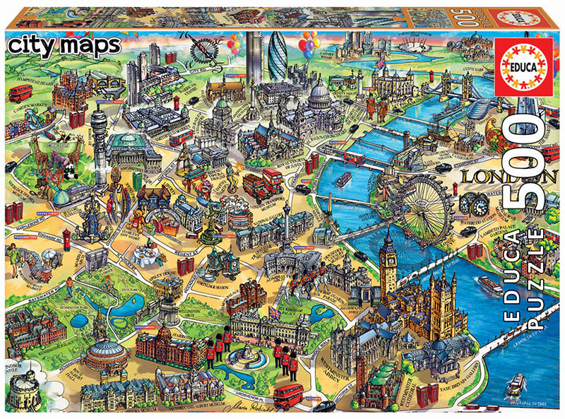 500 London map
