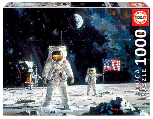 1000 First Men on the Moon, Robert McCall