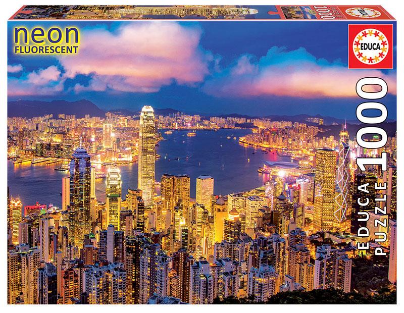 1000 Hong Kong skyline ´Neon´