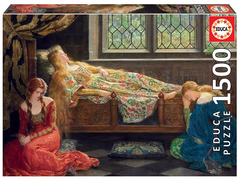 1500 La Bella Durmiente, John Collier