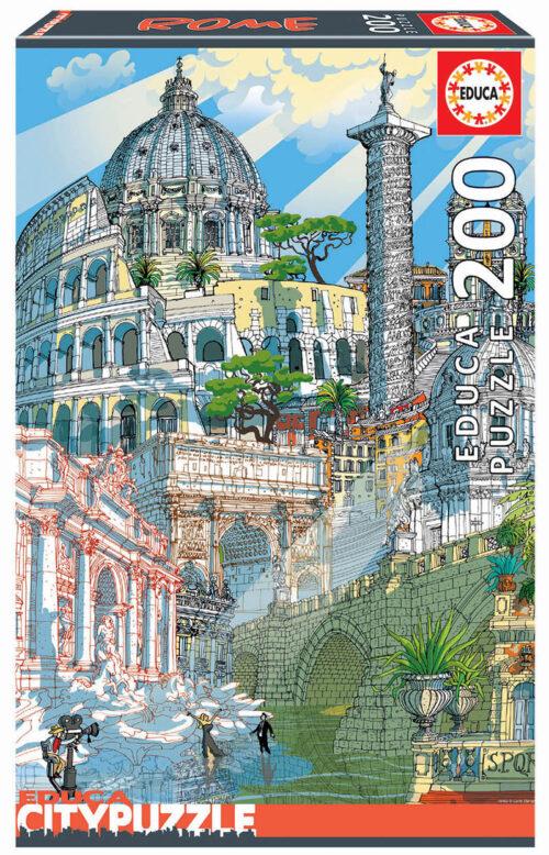 200 Roma ´Educa City Puzzle´
