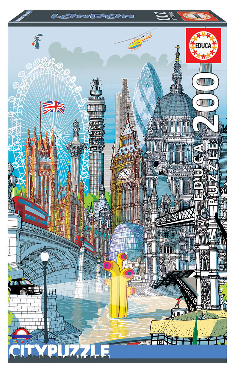 200 London ´Educa City Puzzle´