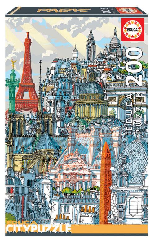 200 Paris ´Educa City Puzzle´