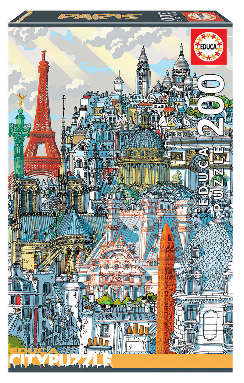 200 Paris ´Educa City Puzzle´