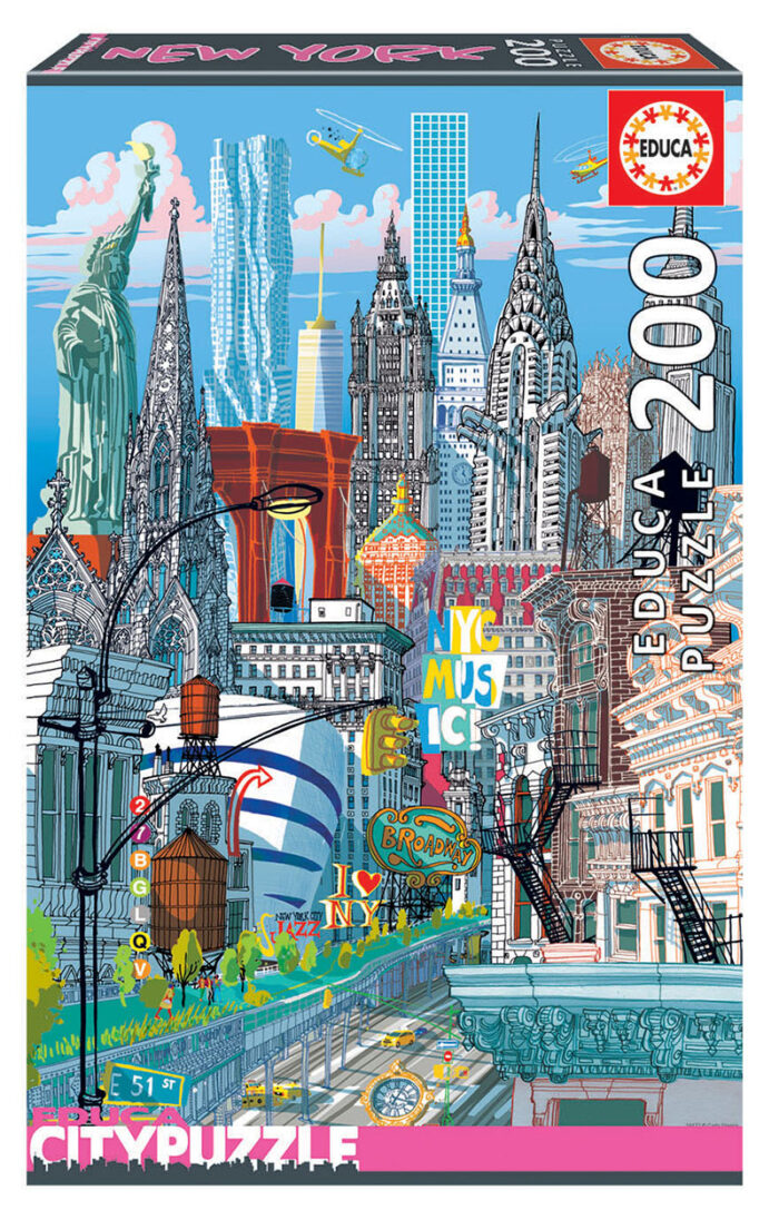 200 New York ´Educa City Puzzle´